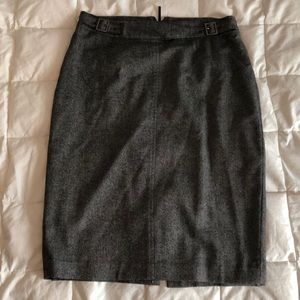 And Taylor wool pencil skirt